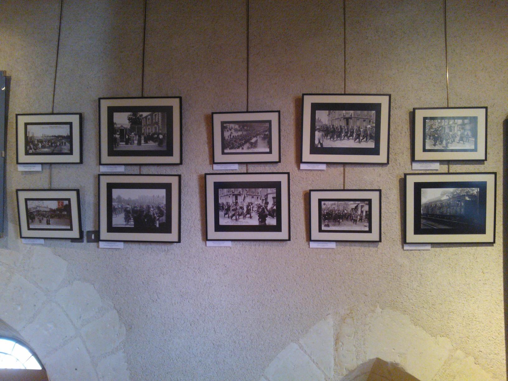 WP 002214 EXPOSITION « 1914, les tourangeaux se mobilisent »