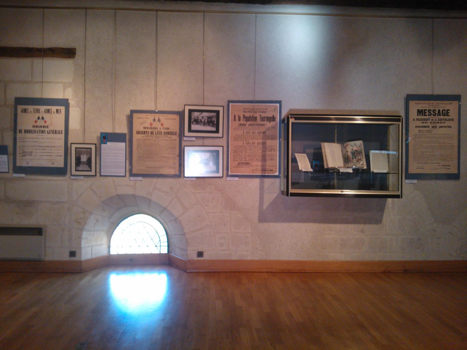 WP 002220 EXPOSITION « 1914, les tourangeaux se mobilisent »