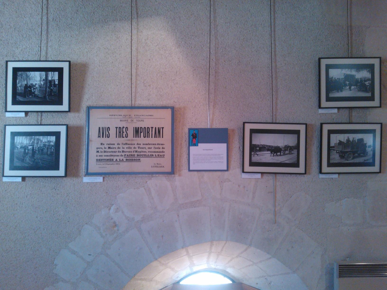 WP 002221 EXPOSITION « 1914, les tourangeaux se mobilisent »