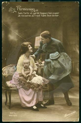 DC000024 EXPOSITION  Les femmes dans la propagande de la Première Guerre Mondiale à travers les cartes postales
