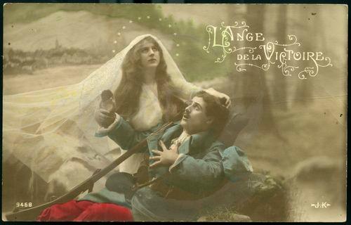 DC000108 EXPOSITION  Les femmes dans la propagande de la Première Guerre Mondiale à travers les cartes postales