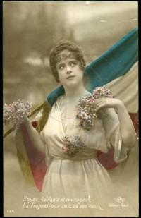 DC000127 e1421242190640 EXPOSITION  Les femmes dans la propagande de la Première Guerre Mondiale à travers les cartes postales
