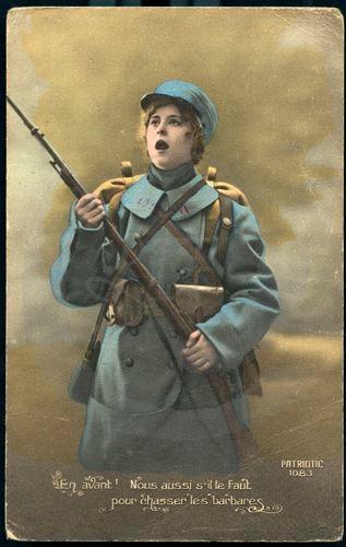 DC000184 EXPOSITION  Les femmes dans la propagande de la Première Guerre Mondiale à travers les cartes postales