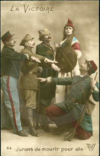 DC000285 EXPOSITION  Les femmes dans la propagande de la Première Guerre Mondiale à travers les cartes postales