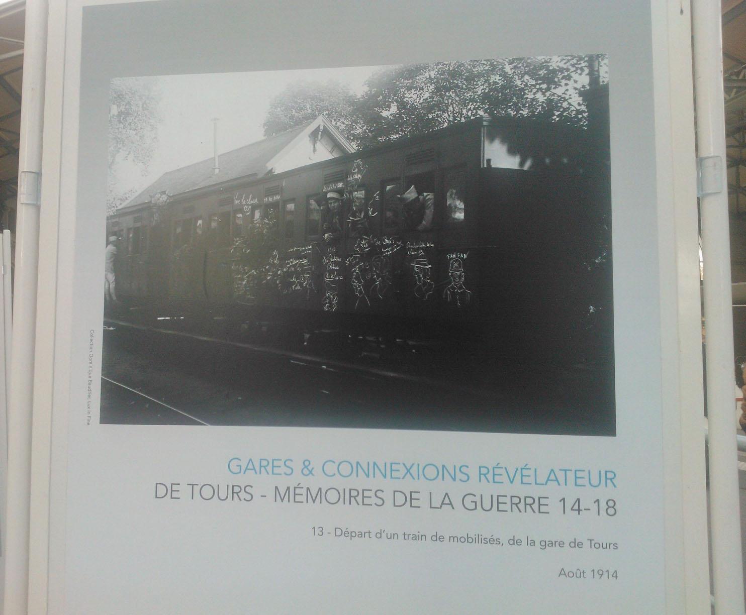 WP 002198 Tours, M�moires de la guerre 14 18